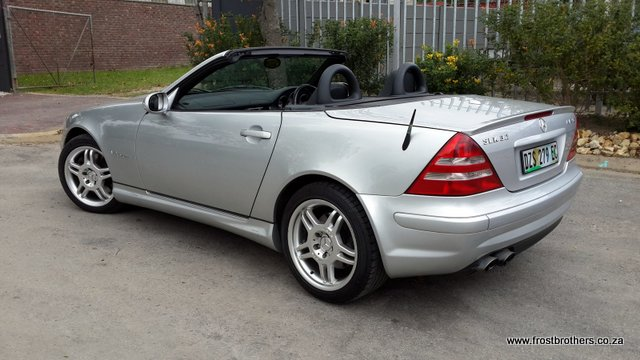 2003 mercedes benz slk 32 amg frost brothers. Black Bedroom Furniture Sets. Home Design Ideas