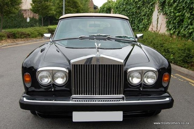 1980 rolls royce corniche convertible frost brothers. Black Bedroom Furniture Sets. Home Design Ideas